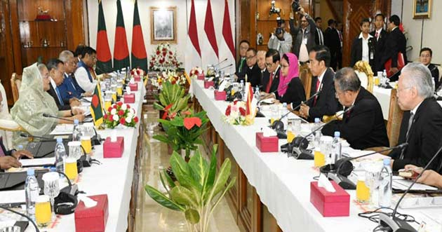 Five contracts signed between Bangladesh and Indonesia