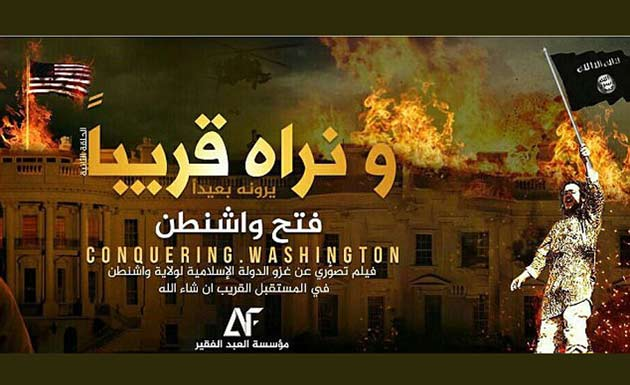 New ISIS propaganda video showing White House blown up