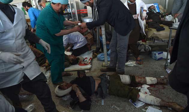 Taliban ambulance bomb kills 95 in Kabul