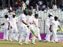 Bangladesh stalled 513 runs in Chittagong Test
