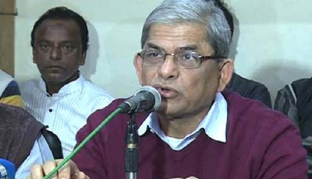 Fakhrul said the latest situation of Khaleda Zia