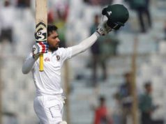 In the second innings Mominul recorded by centuries