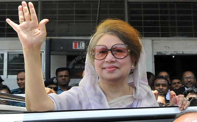 Khaleda Zia sentenced to 5 years imprisonment