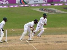Well start but at the end of the day Bangladesh under pressure