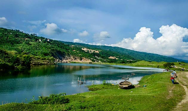 Niladri Lake as like Kashmir
