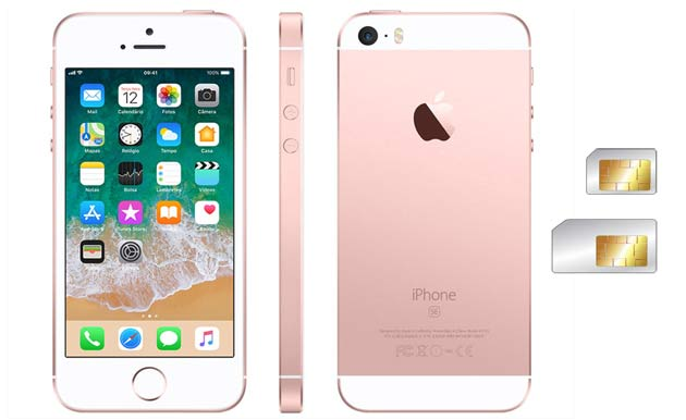 Apple launch new iphone with dual sim