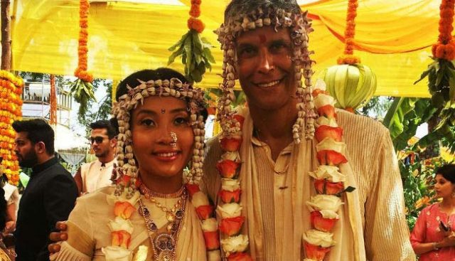 Milind Soman and Ankita Konwar get married