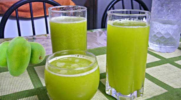 Summer Peace - kacha mango juice