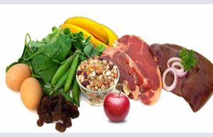Iron-rich foods to prevent anemia