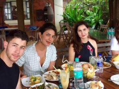 Priyanka at the Goa beach with Nick