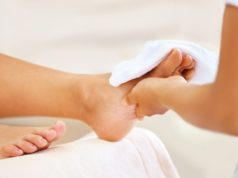 Effective advice on foot care in the rainy season