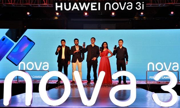Huawei's four-camera smartphone