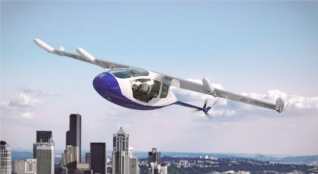 Rolls Royce will make flying taxi