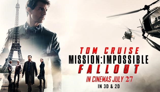 Tom Cruise Mission Impossible - Fallout in Bangladesh