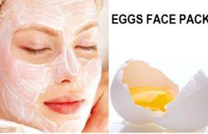 Egg pack to remove blackheads