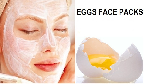 Egg pack to remove blackheads